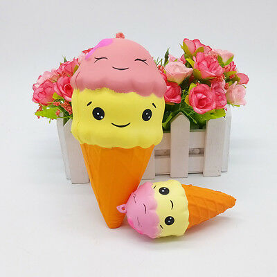 AU7.99 • Buy Fashion Cute Ice Cream Slow Rising Scented Soft Squeeze Stress Toy Gifts H