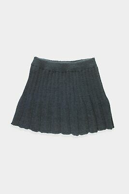 £8.99 • Buy Womens Unbranded Grey Cable Knit A-line Skirt Size M