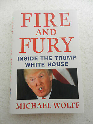 AU7.41 • Buy Fire And Fury Inside The Trump White House By Michael Wolff (2018 Hardcover)