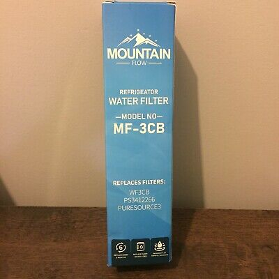$ CDN25.26 • Buy Mountain Flow Refrigerator Water Filter*MF-3CB*For Whirlpool WF3CB*PURESOURCE3