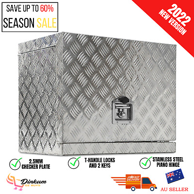 AU203.56 • Buy Aluminium Tool Box Storage Ute Generator Toolbox Truck Trailer Canopy Heavy Duty