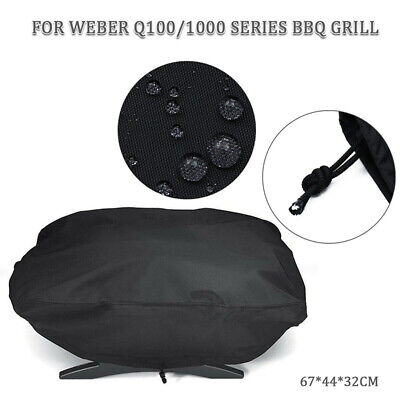 $ CDN11.55 • Buy Waterproof BBQ Grill Cover Gas Barbecue Outdoor For Weber 7110 Q100 1000 H