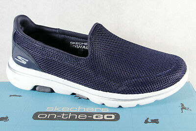 Skechers Ladies Slippers Sneakers Low Shoes Sports Shoes Blue New • 74.93£