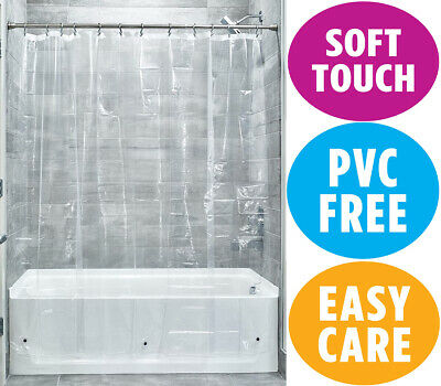 £5.39 • Buy IDesign 3.0 Liner Shower Curtain, Curtain For Shower, Made Of Mould-Free PEVA, X