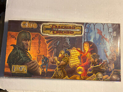 AU84.82 • Buy Dungeons And Dragons Clue Board Game***Great Condition***