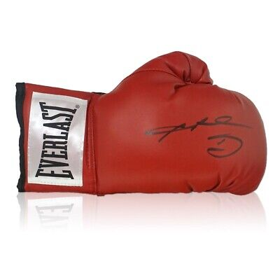 AU368 • Buy Sugar Ray Leonard Signed Red Boxing Glove