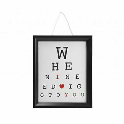 £3.49 • Buy I Love You Hanging Eye Test Frame Valentines Day Gift Special Romantic Pm737066