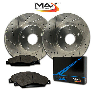 $ CDN131.03 • Buy 2008 VW EOS W/312mm Front Rotor Dia Slotted Drilled Rotor W/Metallic Pads F