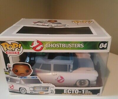 Funko Pop! Ghostbusters Ecto-1 With Winston Zeddemore #04 VERY RARE  • 40£