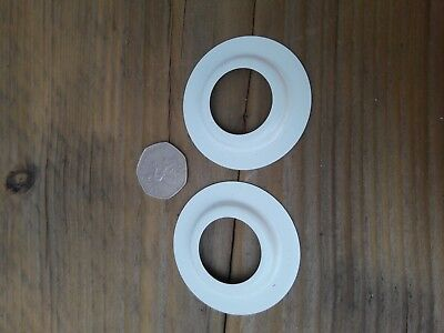 Lamp Shade Reducer Ring Adapter Converter X 2 For Larger Hole Lampshades • 1.99£