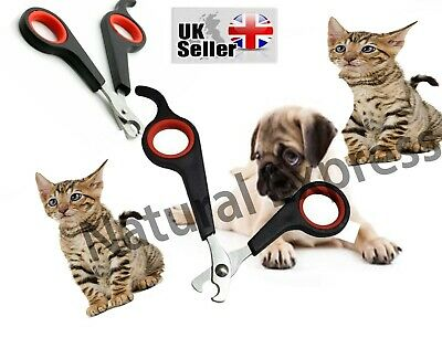 £2.10 • Buy Pet Dog Nail Clippers Cat Rabbit Bird Guinea Pig Easy Use Claw Trimmers Scissors