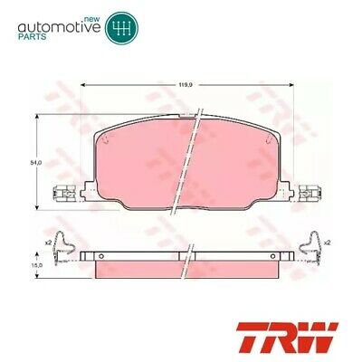 Front Brake Pads Set GDB798 For LEXUS ES, TOYOTA CAMRY (_V2_), CAMRY Saloon • 38.23£