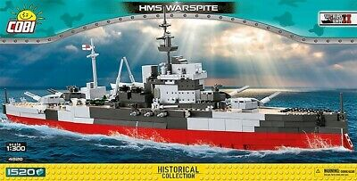 £88.69 • Buy COBI TOYS #4820 HMS Warspite- New Factory Sealed!