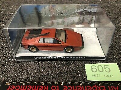 $ CDN22.32 • Buy Lotus Esprit Turbo For Your Eyes Only James Bond Car Collection Diecast 1:43 #8