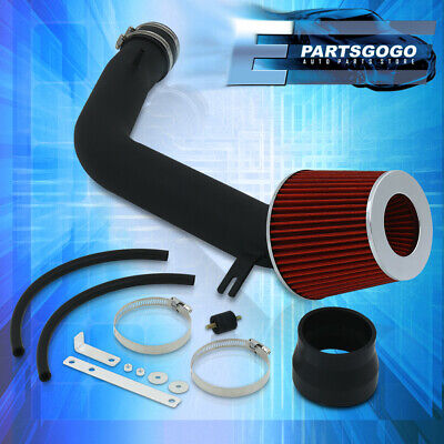 $63.99 • Buy For 03-07 Accord 3.0L Performance Cold Air Induction Intake Filter System Black
