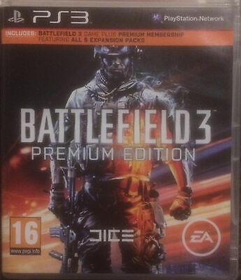 £2.99 • Buy Battlefield 3 Premium Edition Sony Playstation PS3 Game 2011