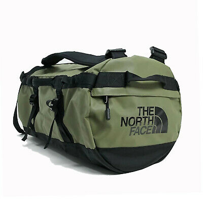 The North Face Mens - Base Camp Duffel SMALL Bag Backpack - Burnt Olive / Black • 85.07£