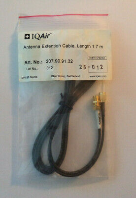 $ CDN31.46 • Buy IQAir Antenna Extension Cable, Length 1.7 M Swiss Made NWT