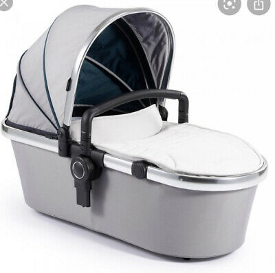 I Candy Peach 2nd Carrycot In Dove Grey Bnib Rrp £139 • 44.99£