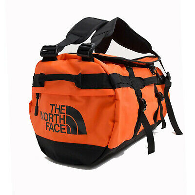 The North Face Mens - Base Camp Duffel SMALL Bag Backpack - Flare / TNF Black • 86.82£