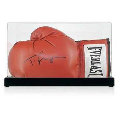 AU534 • Buy Tyson Fury Signed Red Boxing Glove Autographed Memorabilia Case