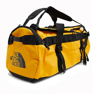 The North Face Mens - Base Camp Duffel MEDIUM Bag Backpack - Summit Gold / Black • 98.54£