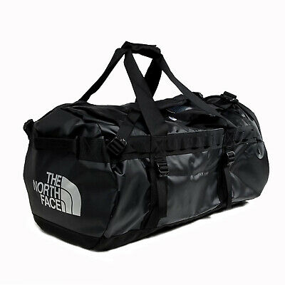 The North Face Mens - Base Camp Duffel MEDIUM Bag Backpack - TNF Black / White • 98.54£