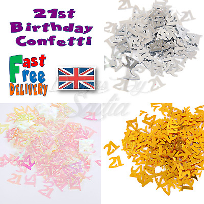 £1.65 • Buy 21st Age Birthday Confetti  Scatter Table Party Celebration Decoration