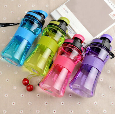 AU13.99 • Buy 700ML BPA Free Plastic Drinking Bottle Water Bottle Outdoor Sports Portable New