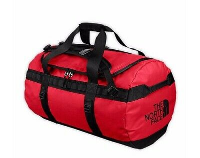 BNWT The North Face Base Camp Duffle Medium Red 2014 • 110£