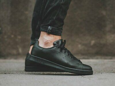 AU79 • Buy Adidas Stan Smith Core Black Men's Leather US10 **BRAND NEW** RRP $150 HYPE INCU