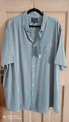 Atlantic Bay - Mens - XXXL - Green / Brown - Soft Touch - Short Sleeve - NEW • 10£