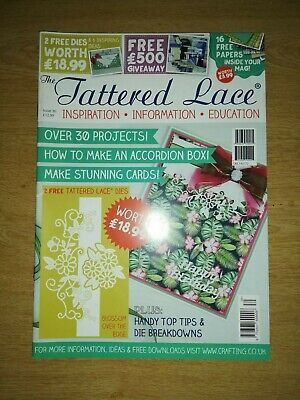 Tattered Lace Magazine Cardmaking Papercraft (no Dies Or Papers ) Various Issues • 3£