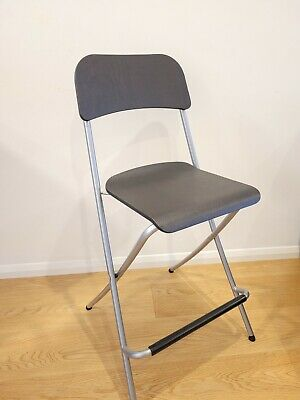 Breakfast Bar Stool Folding Foldable Padded Chair Seat Garden Party Office Event • 13£