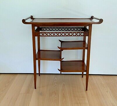 Heals And Son . Arts And Crafts . E W Godwin Japanese Pagoda Display Table . • 495£
