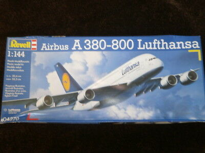 Revell 04270  Airbus A 380-800  Lufthansa  1:144 Scale. • 34.99£