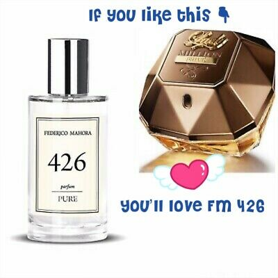 FM 426 Pure Collection Federico Mahora Fragrance For Women 50ml • 16.90£