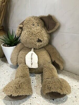 Mamas And Papas Once Upon A Time Pumpkin Puppy Dog Soft Toy 16  Brown Chein • 12£