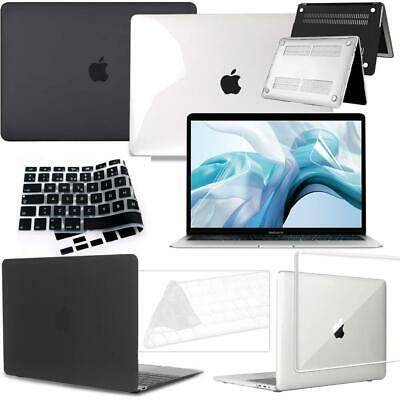 £9.99 • Buy New Case Cover+Keyboard Skin+Screen Protector For Apple MacBook Air/Pro/Retina