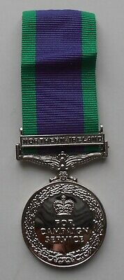 £14.99 • Buy Campaign Service Medal Northern Ireland Replica Medal