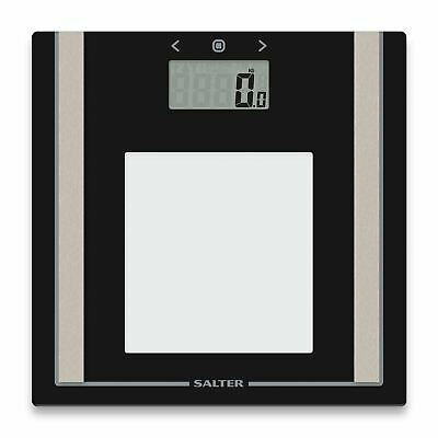Salter 9112TE Bathroom Weighing Scales - Body Fat / Water / Bone Mass / BMI BMR • 21.99£
