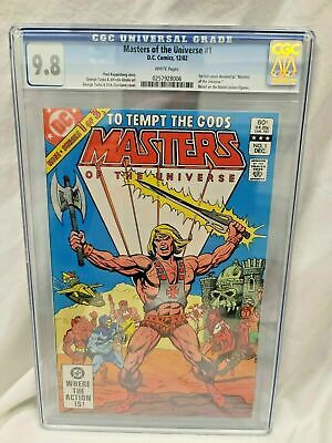 $448 • Buy Masters Of The Universe #1 He-man Cgc 9.8 1982 First Full Comic Based On Figures