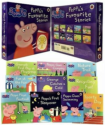 £13.67 • Buy Peppa Pig Favourite Stories 10 Books Slipcase Collection Set - GIFT