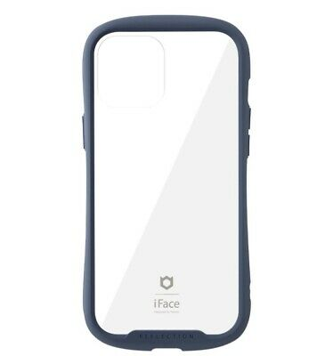 IFace Reflection IPhone 12 Pro Max Case 6.7 Inch Clear Tempered Glass Navy • 54.27£
