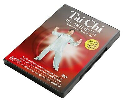 £9.99 • Buy Tai Chi For Arthritis - 12 Lessons With Dr Paul Lam (DVD, 2010, 2-Disc Set)