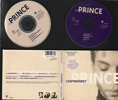 2 X CD Singles: Prince - Controversy CD1 And CD2 (1993) Gatefold Digipack   VG • 15.99£