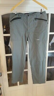 £9.99 • Buy A ROHAN Performance Men Airlight Trekking Trousers Grey  Size 36/28
