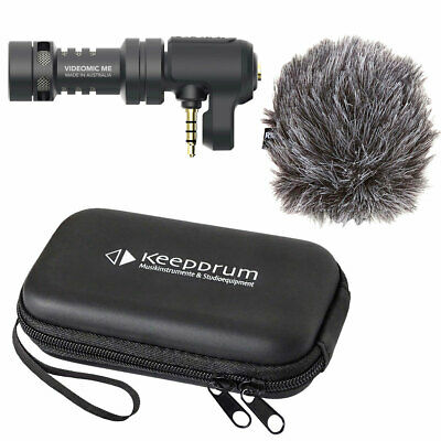 Rode Videomic ME Microphone For Smartphone Tablet + Keepdrum Soft-Case • 64.46£