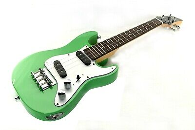 AU275.84 • Buy B-stock Ukulele Tenor Electric Solid Body In Green SC Style Guitar By Clearwater