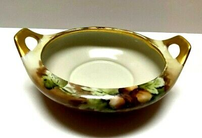 $14.48 • Buy Vintage M Z Austria Hand Painted Double Handled Dish